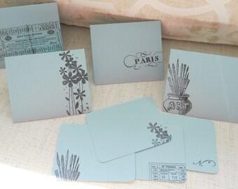 Mini Briefpapier oder Hinweis Karten für Liebe Danke auf | Etsy
