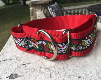 "Stormie's Ink - 1.5"" Martingale Collar"