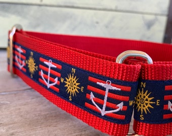 "Sail Away - 1.5"" Martingale Collar"