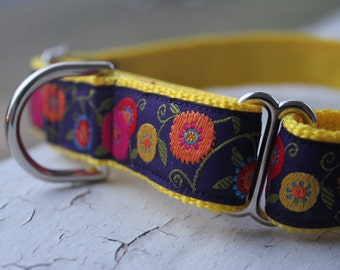 "Hope's Garden - 1"" Martingale Collar"