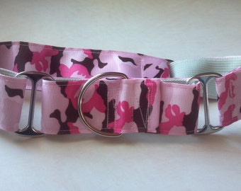 "The Moosha Two - 1.5"" Martingale Collar"
