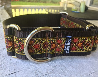 "The Buddy G - 1.5"" Martingale Collar"