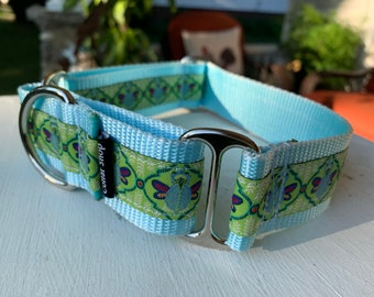 "Butterfly Moth - 1.5"" Martingale Collar"