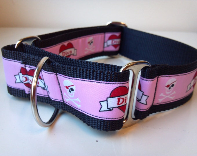 "Sierra's a Diva 1.5"" Martingale Collar"