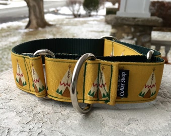 "The Tee-Pee 1.5"" Martingale Collar"