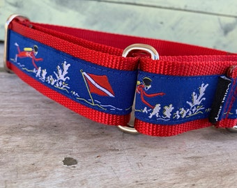 "Dive - 1.5"" Martingale Collar"