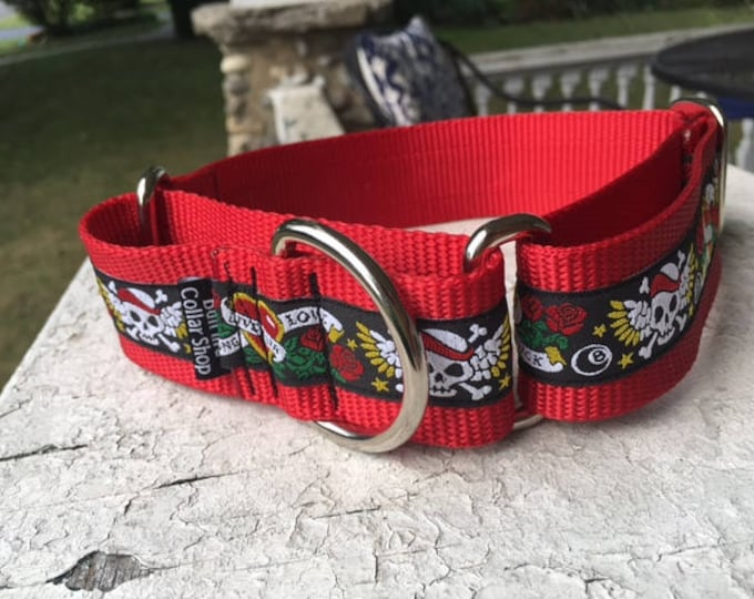 """Stormie's Ink - 1.5"""" Martingale Collar"""