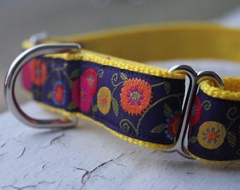 "Hope's Garden - 1"" Martingale Collar"