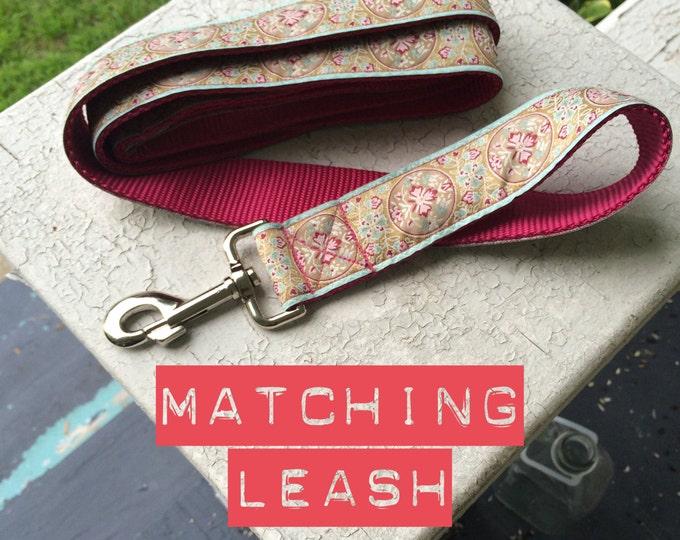 Matching Leash - 4'