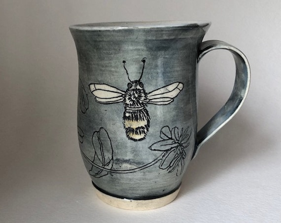 Personalized Bee Mug