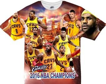 f1e5a0f34 Cleveland Cavaliers 2016 NBA Champs. Men s (Unisex) Sublimation Shirt
