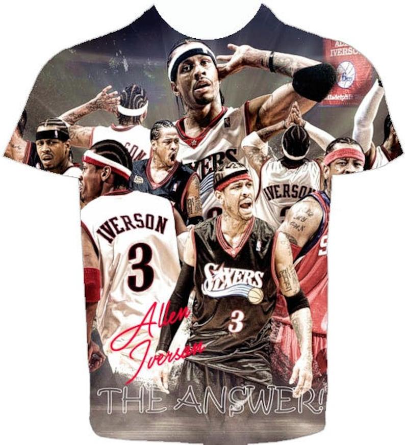 Collage T-shirt Men s (Unisex) Sublimation Shirt. Af... Allen Iverson T- shirt. Collage T-shirt Men s (Unisex) Sublimation Shirt. African American T- shirt 914b8ffa8