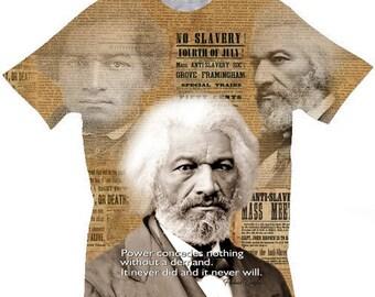 Black History T shirts. Frederick Douglass T-shirt. Kids/Youth Sizes