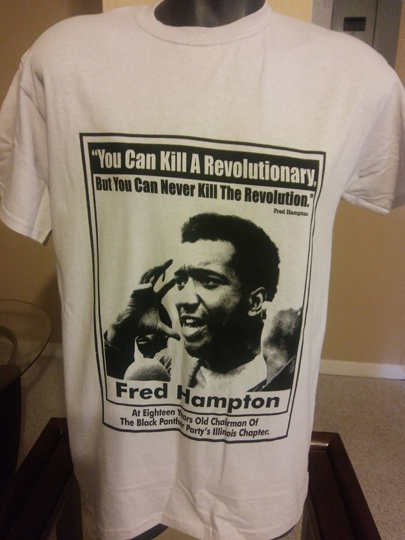 Image result for fred hampton panther shirt
