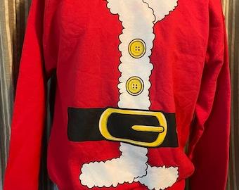 Santa top sweatshirt