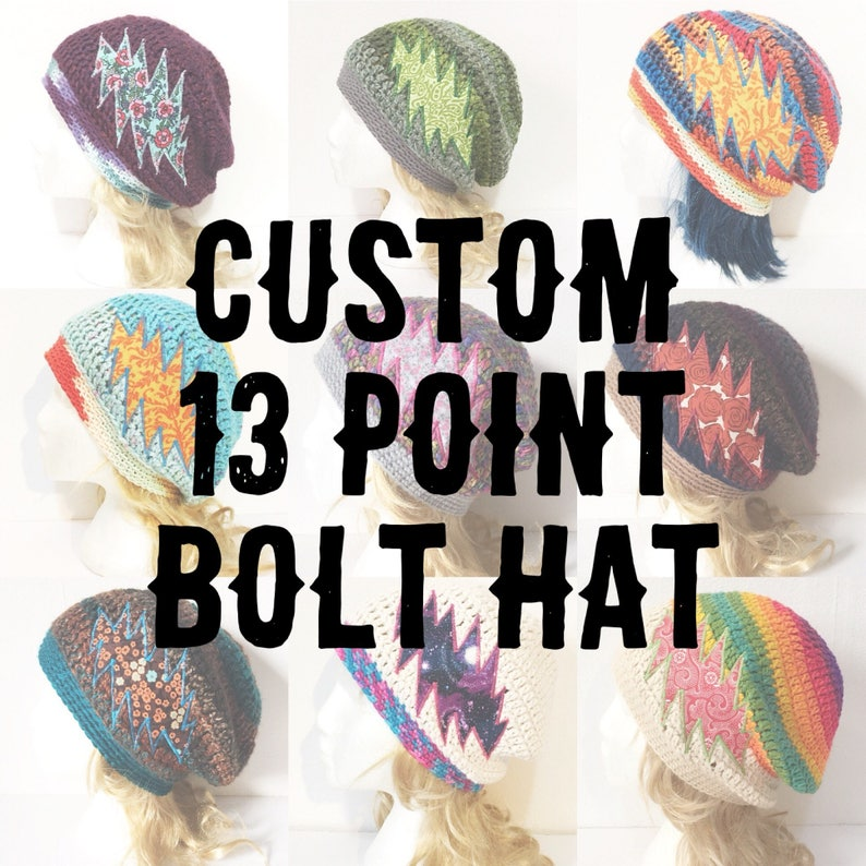 13 Point Bolt Hat Customized For You image 0