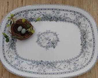 Beautiful Lace pattern Johnson Brothers porcelain platter