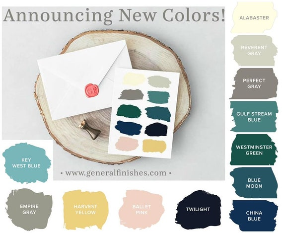 Milk Paint New Colors By General Finishes