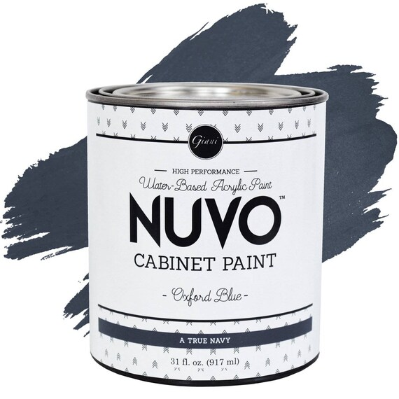 Nuvo Oxford Blue Cabinet Paint | Etsy