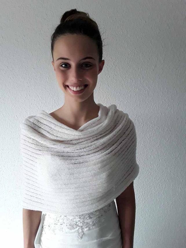 Braut Stola Schulterwärmer   Etsy
