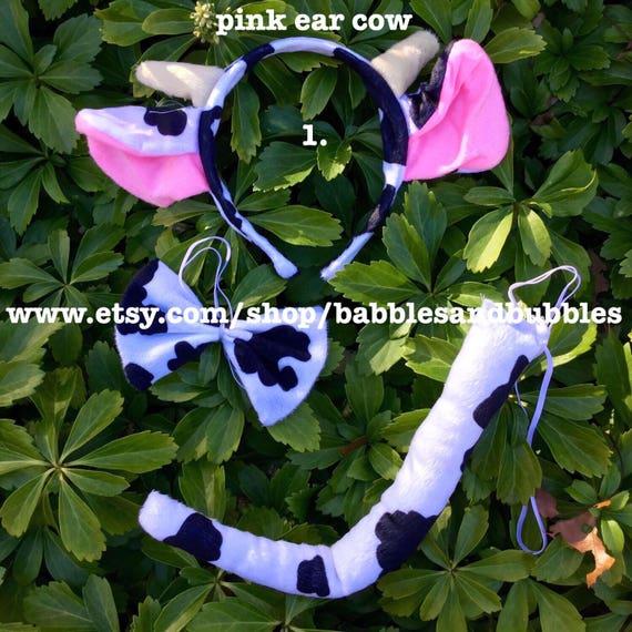 & Comfortable Cow Headband Halloween Costume Cow Ears