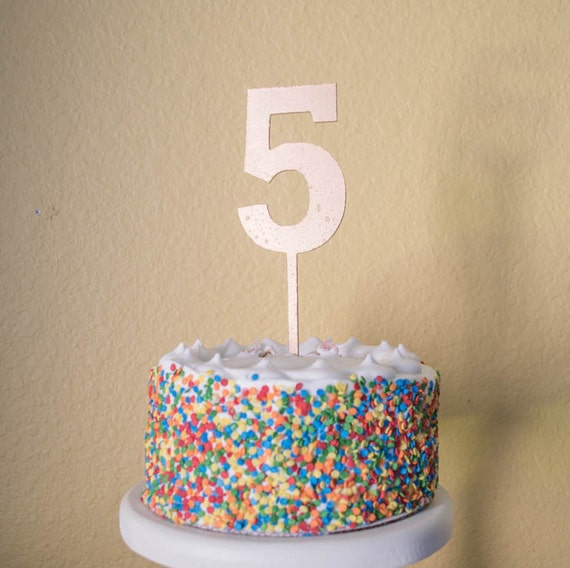Brilliant Number Five Birthday Cake Topper Wood Number 5 Etsy Personalised Birthday Cards Akebfashionlily Jamesorg