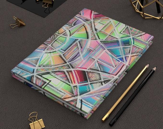 Kaleidoscope- Hardcover Journal Matte