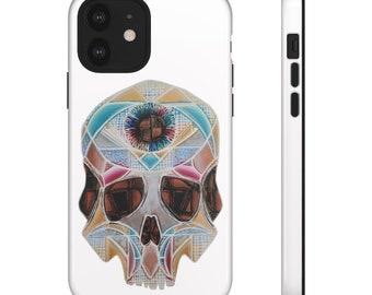 Art Deco Skull Tough Cases