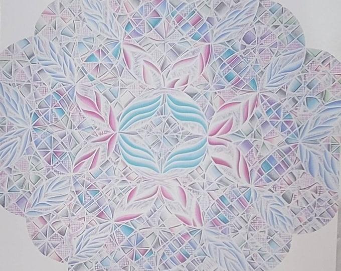 Cotton Candy: The Metamorphosis of Textured Metal Print