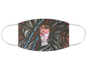 Ziggy Stardust David Bowie Fabric Face Mask