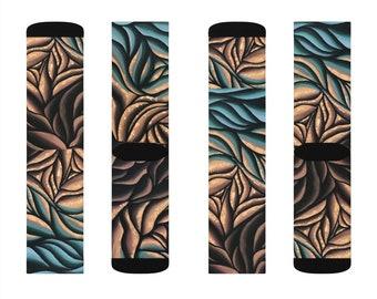 Transition Original Abstract Art Socks