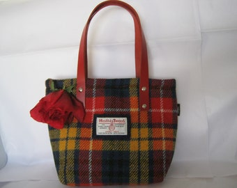 1484998814 Unique Harris Tweed Bag