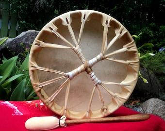 """Solstice Shamanic Medicine Drum 15"""""""