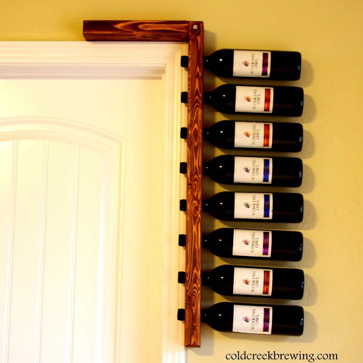 Rustic Wine Rack Wine Rack Wine Bottle Holder Bridesmaid   Etsy
