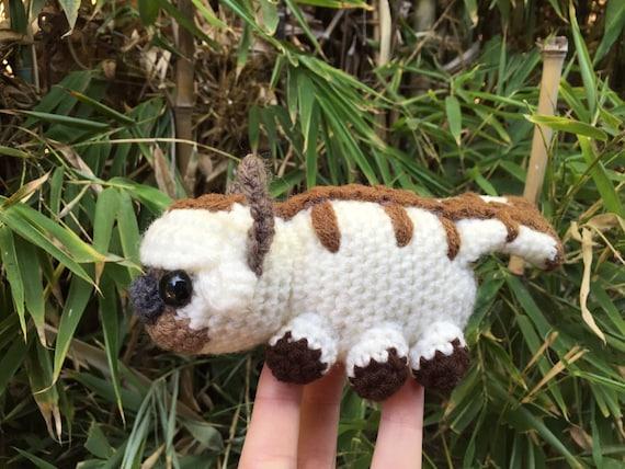 Crocheted Appa Amigurumi Sky Bison Avatar The Last Airbender Etsy