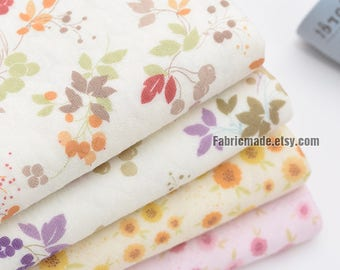 Fashion Style 1meter Pink Flowers Cherry Fruit Printed Cotton Sewing Fabric For Baby Patchwork Quilt Home Dec Orative Pillow Cover Handicraft Distinctive For Its Traditional Properties Smart Home