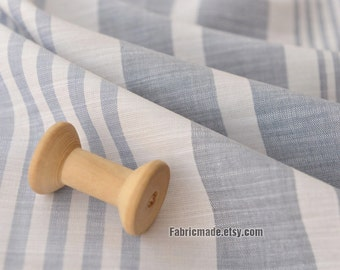 7f607eafd748 Irregular Grey Stripes Cotton Fabric