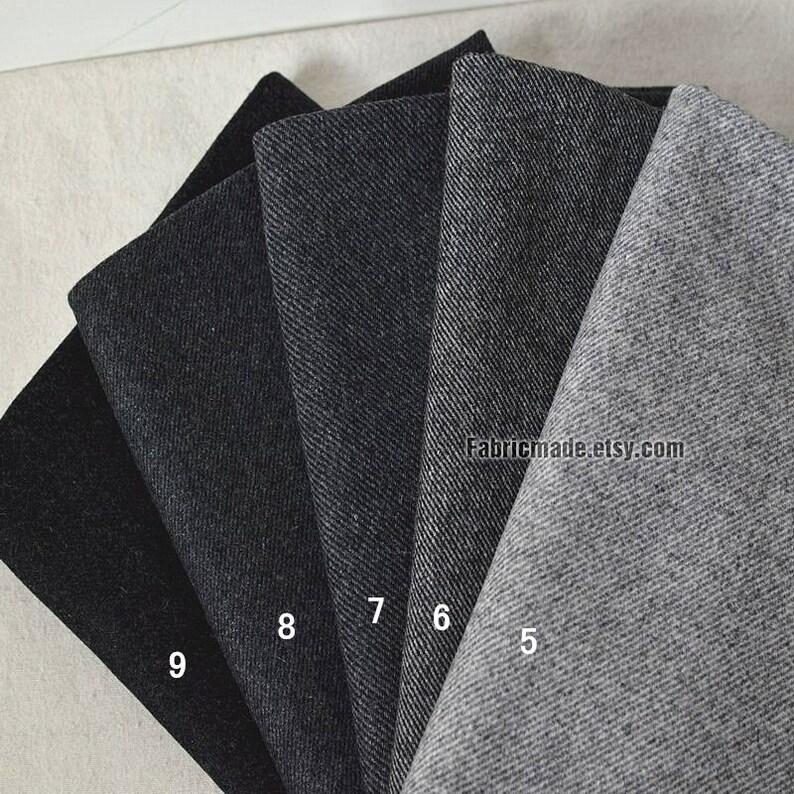 7911bb4d78f1 Struttura di tessuto di lana grigio flanella grigia per Sprint