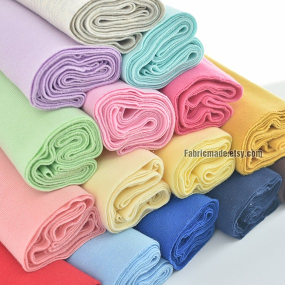 20cm 11 Width Ribbing And Binding Knit Fabric For Neckline
