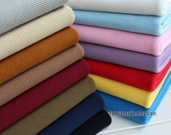 """Thick Heavy Ribbing- 3.9"""" Length 10 x 120cm Ribbing and Binding Knit Fabric For Winter Neckline, Cuffs, Hems"""
