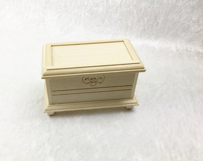 Chest, for the dollhouse, the dollhouse, dollhouse miniatures, cribs, miniatures, model making