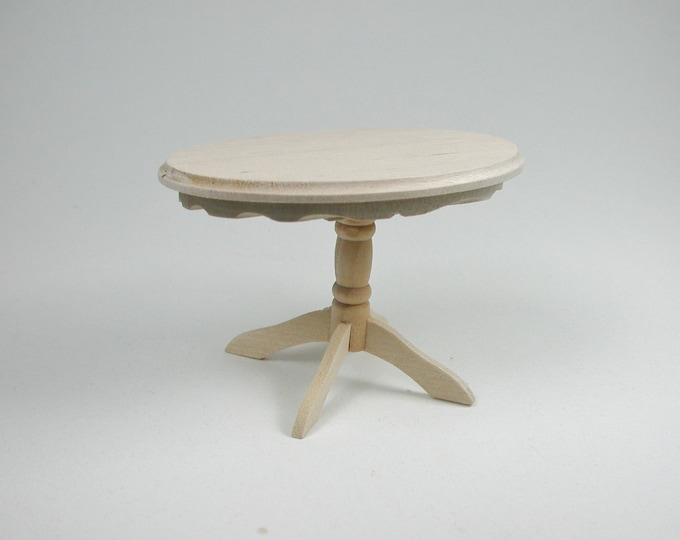 Table oval, for the Dollhouse, the Dollhouse, Dollhouse miniatures, cribs, miniatures, model building # 840-433