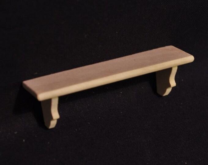 Shelf for the dollhouse, the dollhouse, dollhouse miniatures, cribs, miniatures, model making