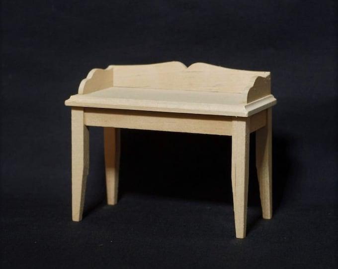 Desk, Dollhouse, Dollhouse, Dollhouse Miniatures, Miniatures,