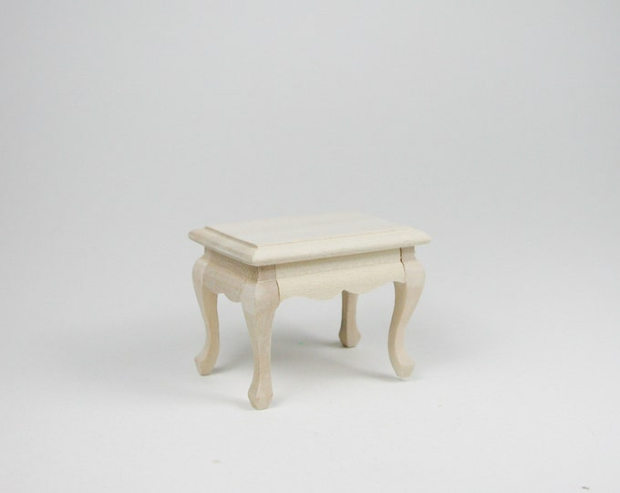 Small table, for the Dollhouse, the Dollhouse, Dollhouse miniatures, cribs, miniatures, model building # 840-422