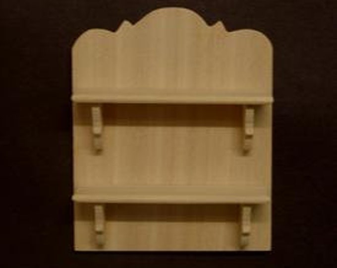 Wall shelf, for the doll's house, the doll's house, Dollhouse miniatures, nativity scenes, miniatures, model making