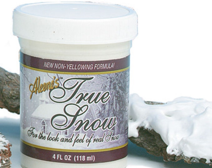 Aleene's true snow snow dressing 118ml, snowflakes for the doll house, the Dollhouse, Dollhouse miniatures, model making, Dollhouse