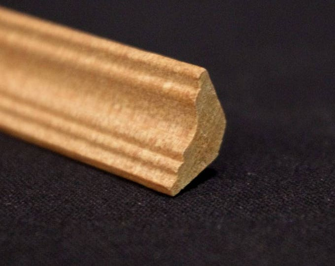 Bar, 30 x 1.4 cm, wooden strip, wood nature untreated, for the doll house, for model making, for the Krippenbau # 23558
