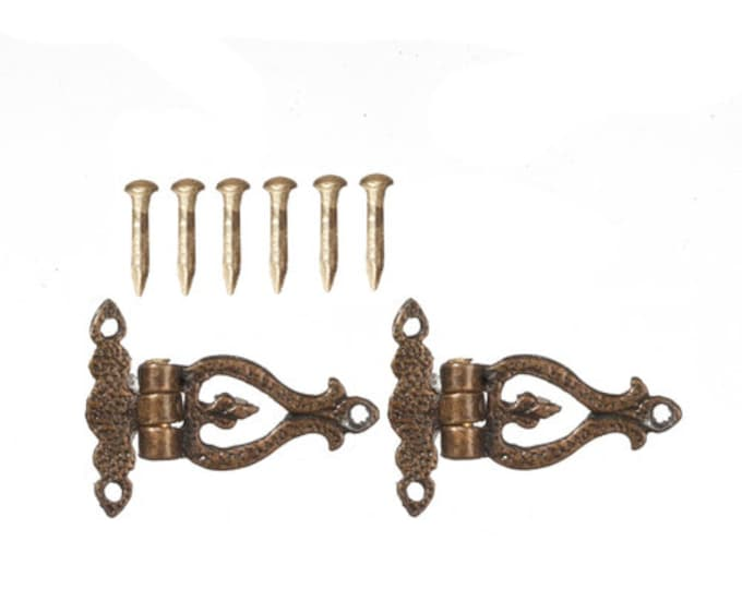 Hinges, for the dollhouse, the dollhouse, dollhouse miniatures, cribs, miniatures, model making