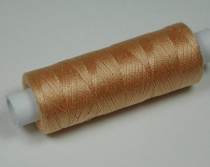 6045 Venne mohair, cotton, knitting and crochet thread for miniature handicraft, color topaz